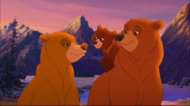 Nita as a Bear with Kenai and Koda  Brother Bear 2  picture image
