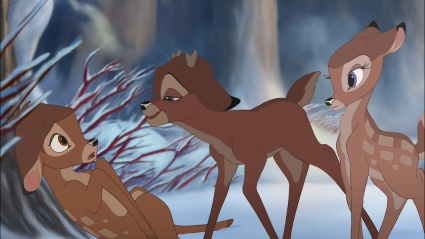 Bambi, Ronno, and Faline Bambi II   picture image