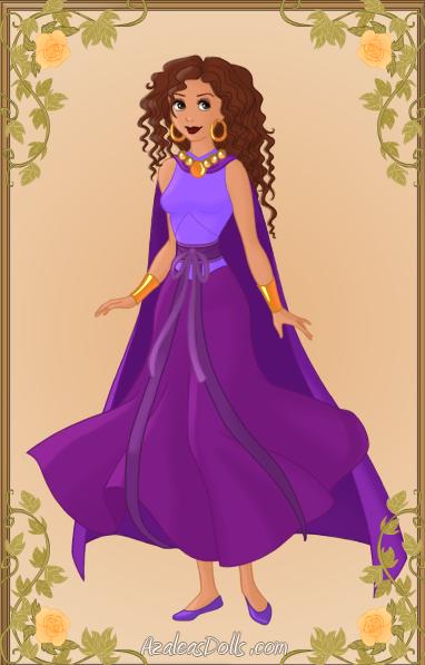 picture image Danielle from Madeline as Esmeralda  azalea doll