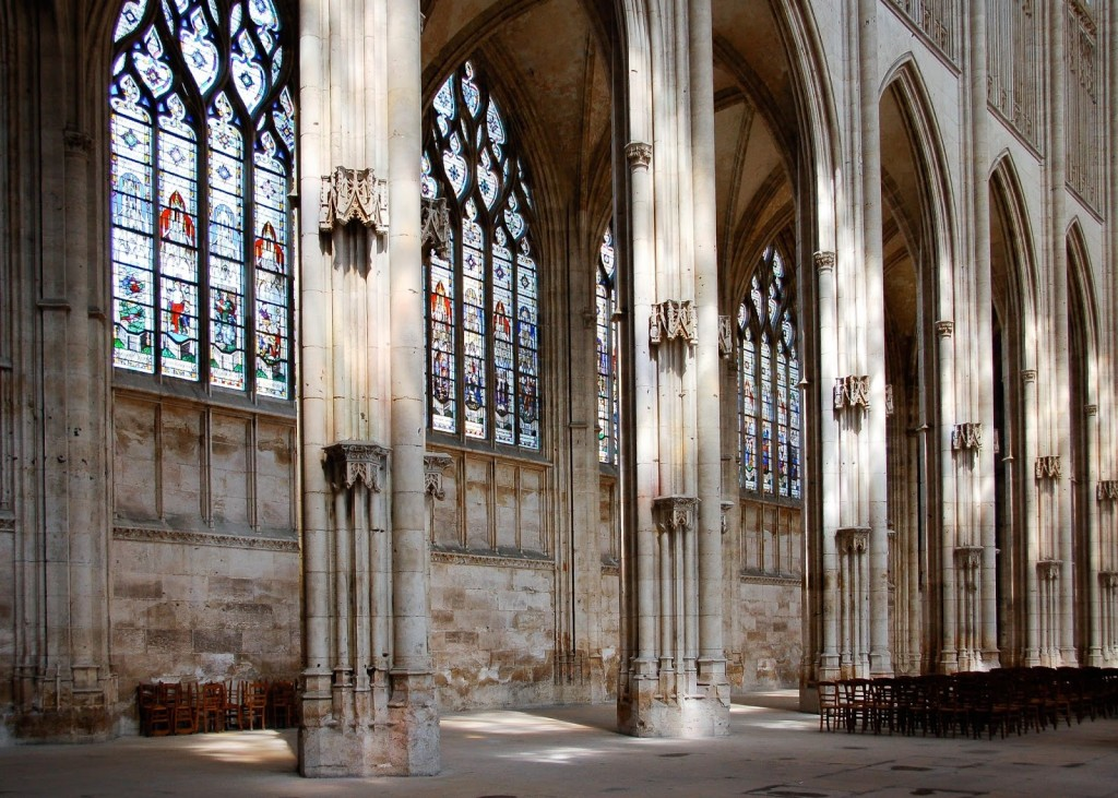 The Church of Saint Ouen in Rouen picture image