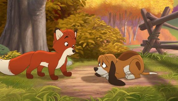 Tod and Copper The Fox and the Hound 2 picture image