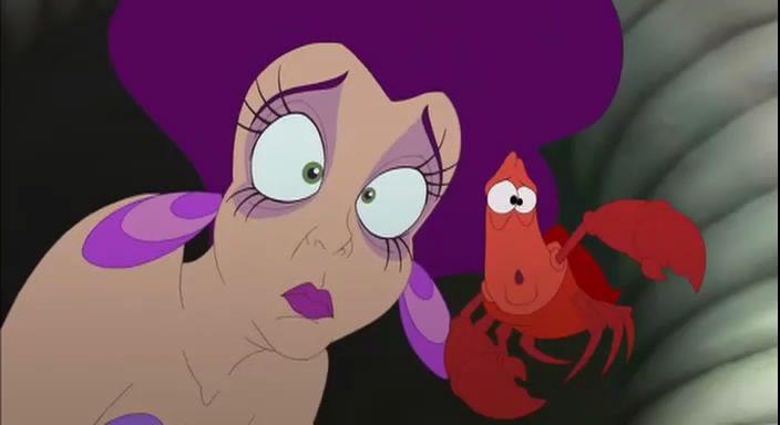Sebastian and Marina The Little Mermaid: Ariel's Beginning picture image