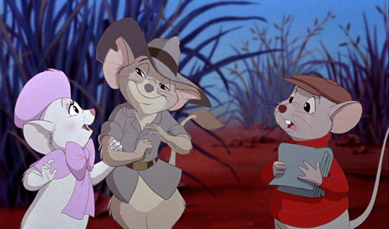 Miss Bianca, Jake, and Bernard The Rescuers Down Under picture image