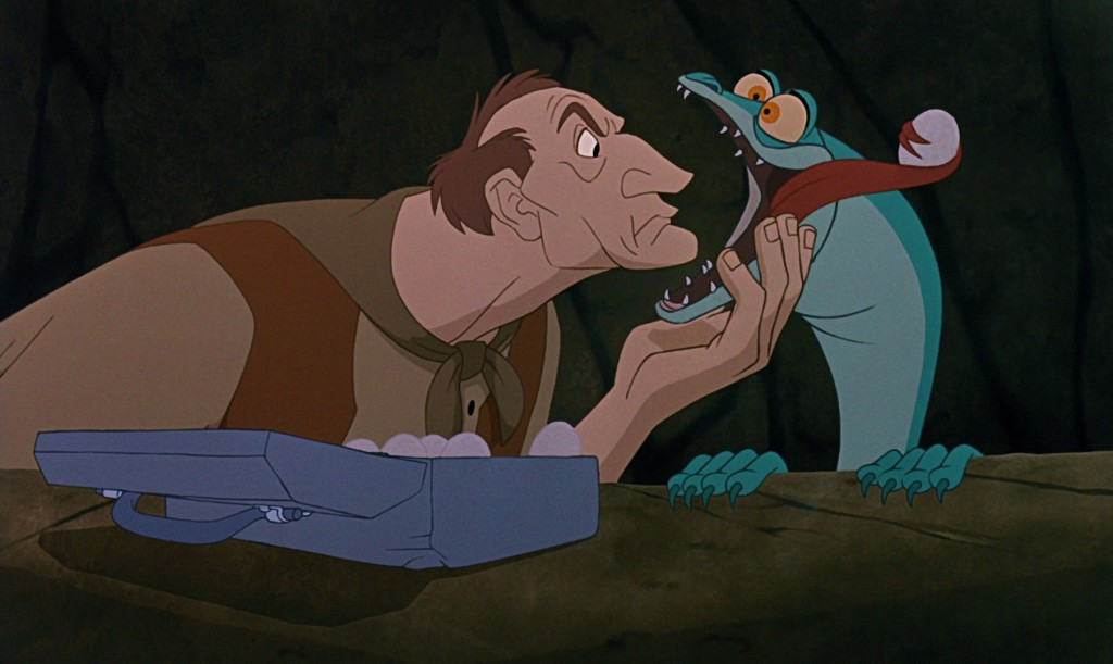 McLeach and Joanna The Rescuers Down Under picture image
