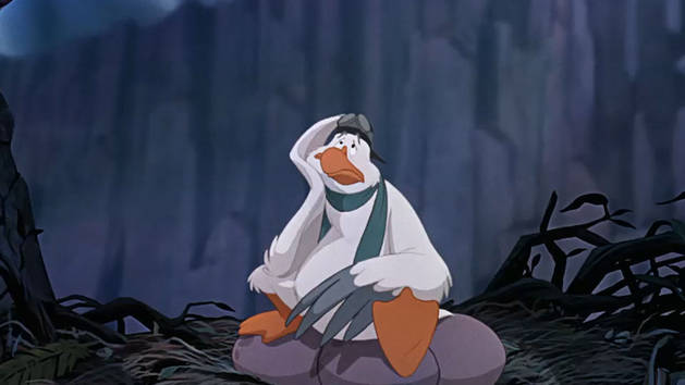 Wilbur babysitting The Rescuers Down Under picture image