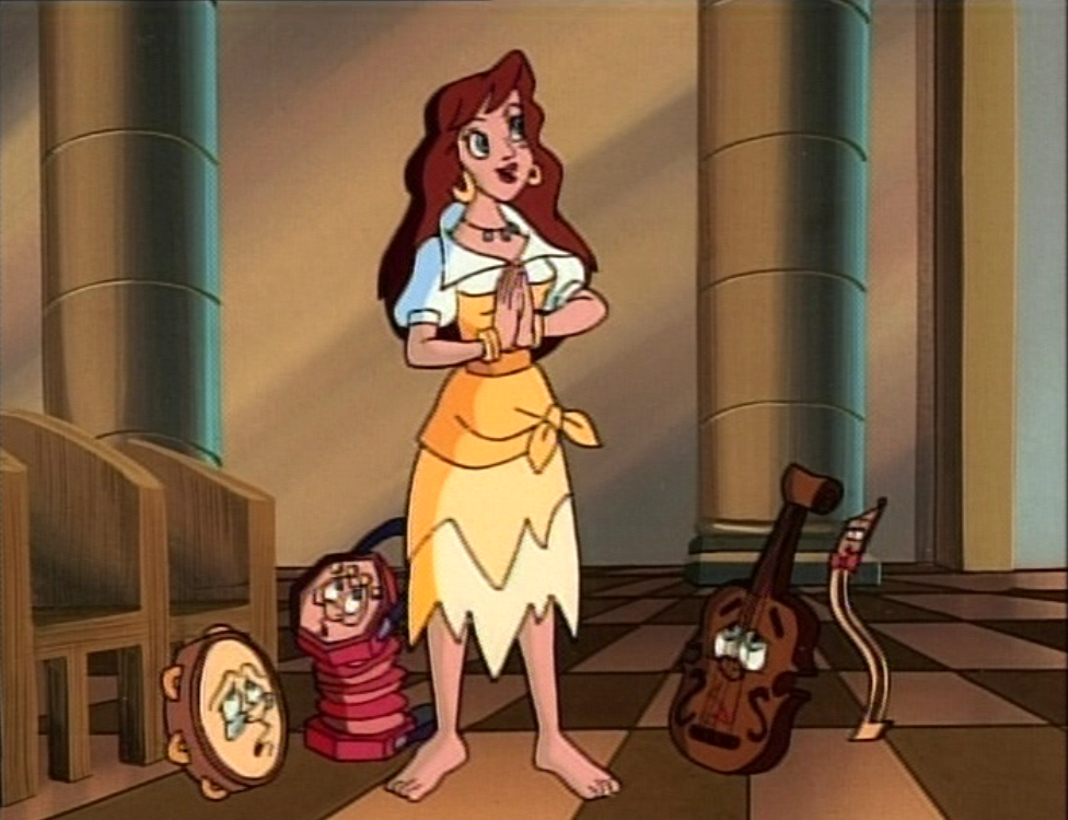 Melody and her team of annoying instruments Enchanted tales The Hunchback of Notre Dame picture images