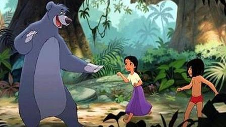 Baloo, Shanti and Mowgli  The Jungle Book 2 picture image