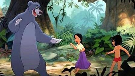 Baloo, Shanti and Mowgli  The Jungle Book 2 picture image