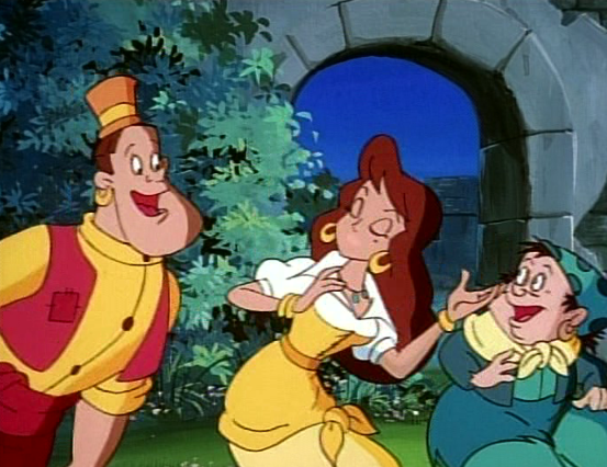 Melody's mouth is gone, This has not been altered, this native in the movie Enchanted Tales Hunchback of Notre Dame picture image
