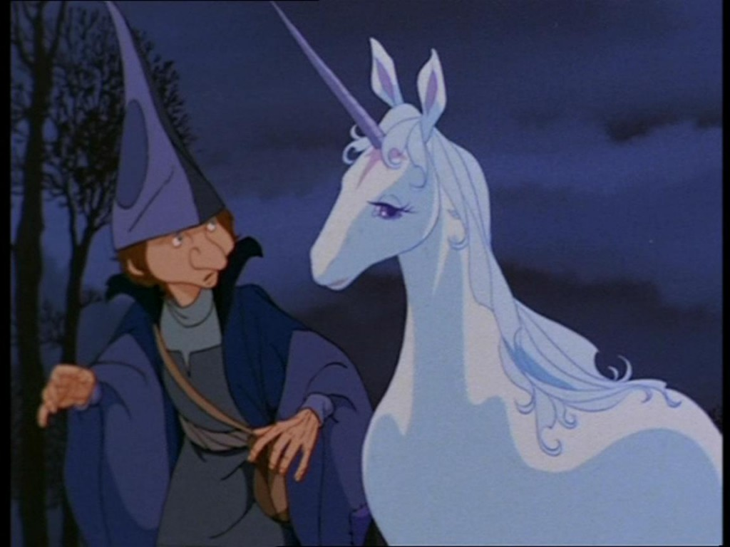 The Unicorn and Schmendrick The Last Unicorn picture image