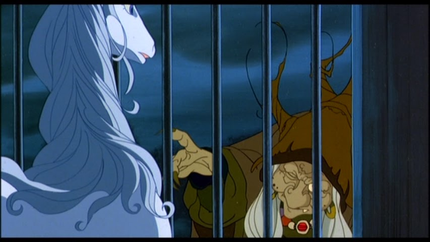 The Unicorn and Mommy Fortuna The Last Unicorn picture image