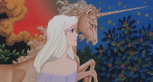 Lady Amalthea a.k.a The Unicorn's Human Form The Last Unicorn picture image