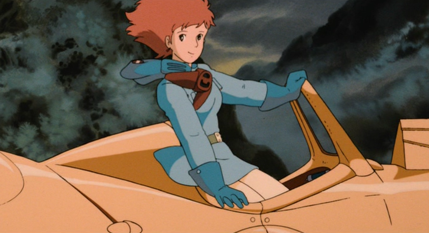 Nausicaa not wearing a mask in the Sea of Decay Nausicaa of the Valley of the Wind picture image