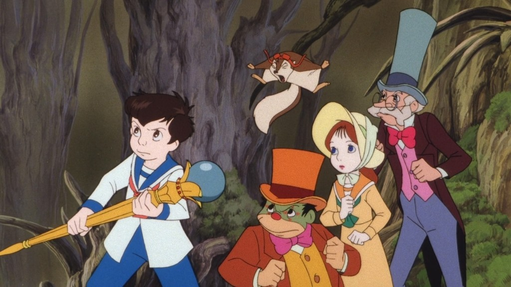 Nemo, Princess Camille, Icarus, Flip and Professor Genius Little Nemo: Adventures in Slumberland picture image