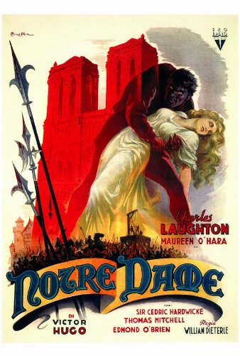 1939 Hunchback of Notre Dame Poster picture image