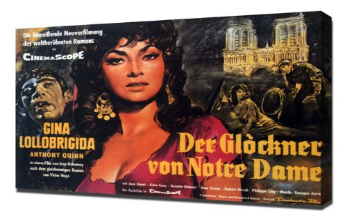 1956 Hunchback of Notre Dame  Poster picture image
