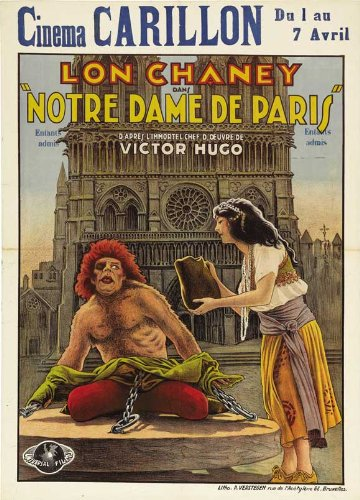 1923 Hunchback of Notre Dame  Poster picture image