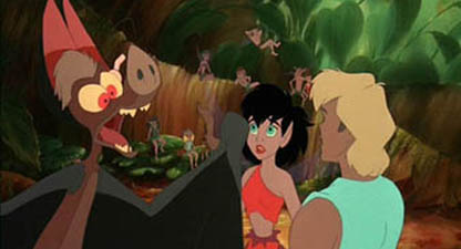 Batty Koda, Crysta, and Zak Ferngully: The Last Rainforest picture image