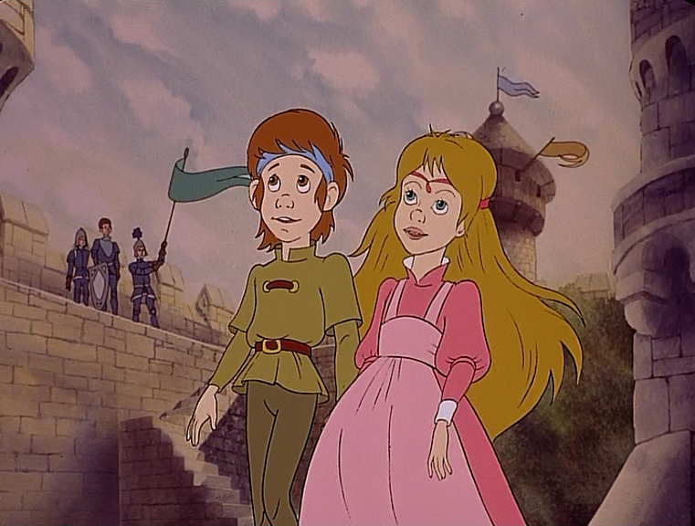 Irene and Curdie The Princess and the Goblin picture image