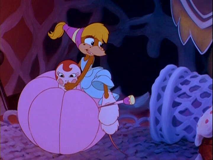 Ms Fieldmouse Thumbelina  picture image