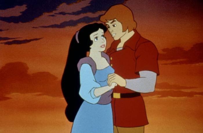 Snow White and her Prince Happily Ever After picture image