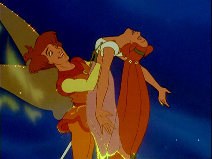 Thumbelina  with Cornelius picture image
