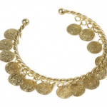 Coin bracelet for 1956 Esmerald