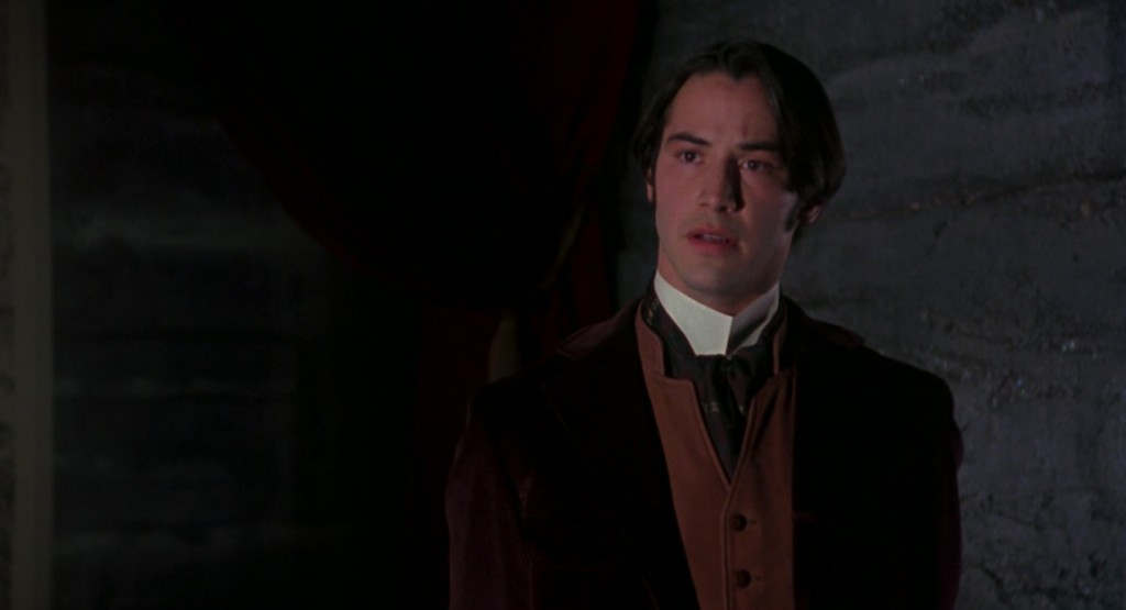 Keanu Reeves as Jonathan Harker from Bram Stoker's Dracula picture image