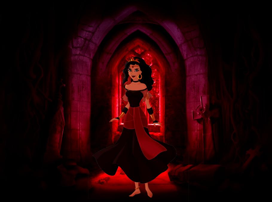 Halloween 2014 Spooky Esmeralda picture image
