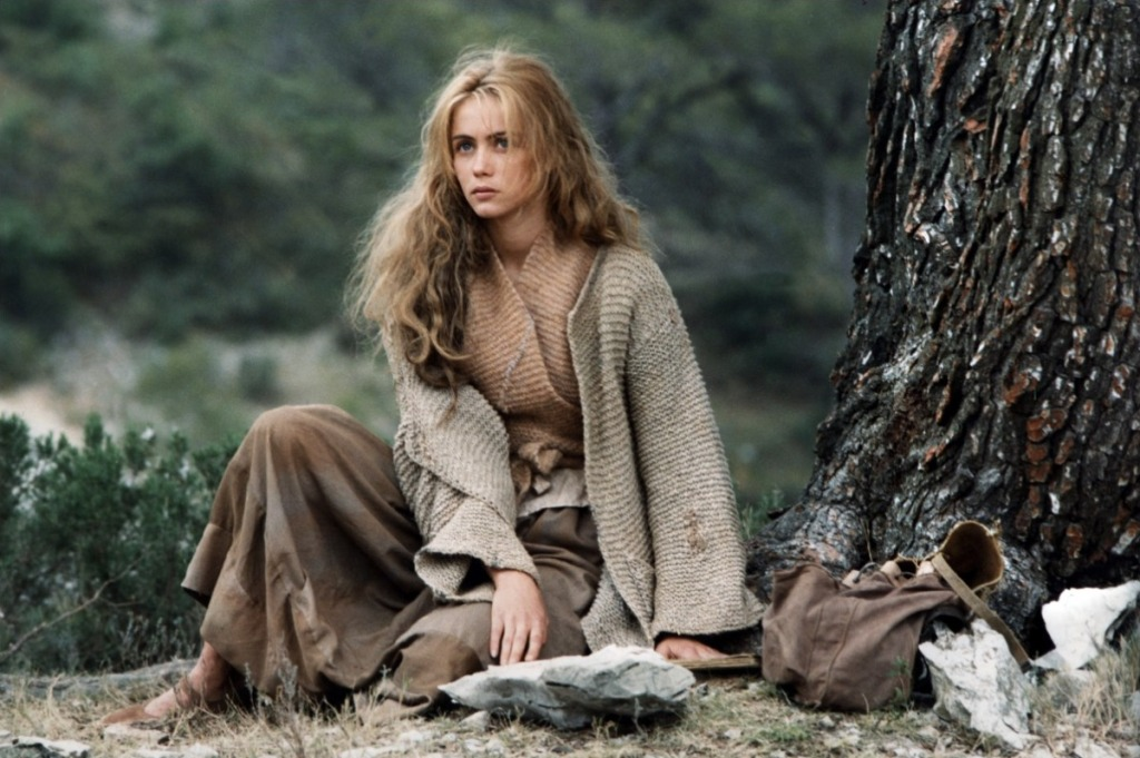 Emmanuelle  Beart as Manon in Manon des Sources picture image