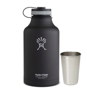 Hydro Flask - Stainless Steel Growler Vacuum Insulated Wide Mouth Black Butte gift Clopin picture image