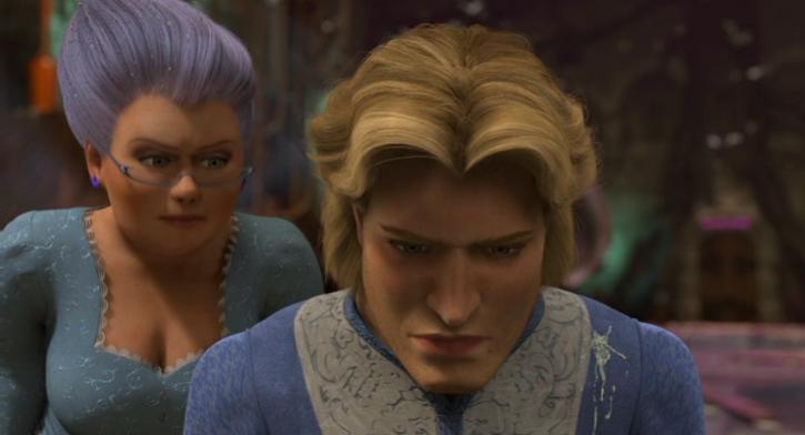 Fairy Godmother and Charming Shrek 2  picture image
