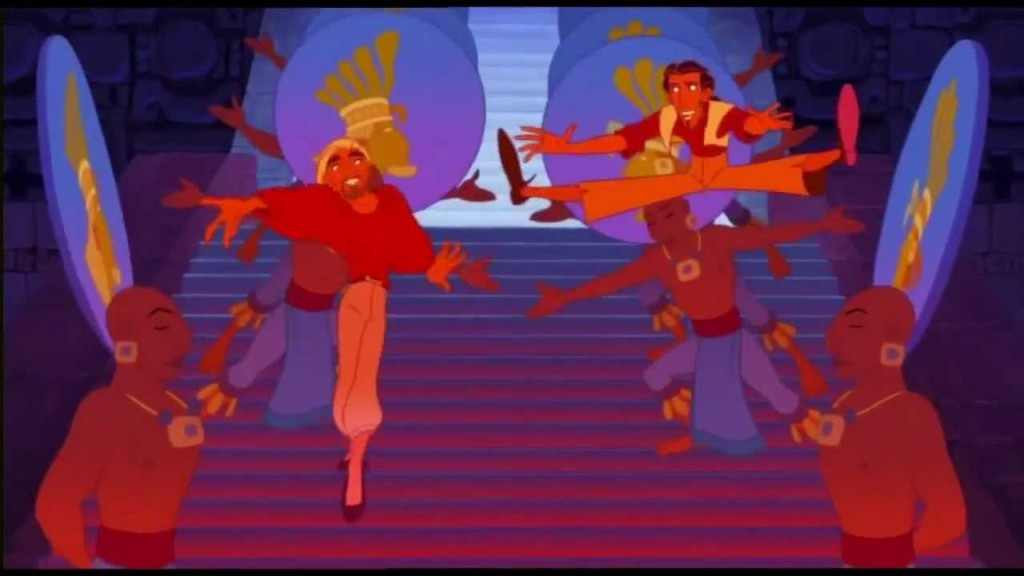 Tulio & Miguel singing It's tough to be a god The Road to El Dorado picture image