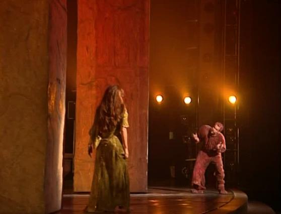 Esmeralda and Quasimodo in Notre Dame Ma Maison c'est ta maison garou helene Segara Notre Dame de Paris picture image