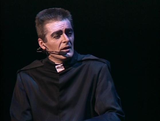 Daniel Lavoie as Frollo Notre Dame de Paris picture image