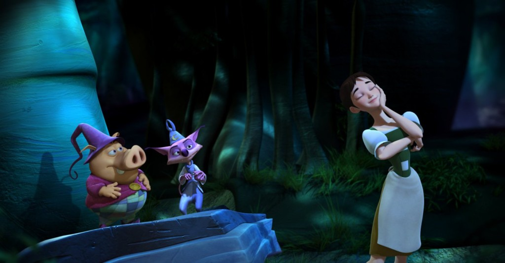 Ella, Munk and Mambo Happily N'Ever After  picture image