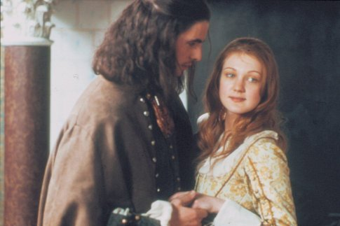 Azura Skye as Iris with Matthew Goode as Casper Confessions of an Ugly Stepsister picture image
