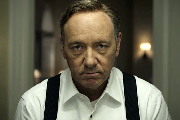 Kevin Spacey  as Frank Underwood from House of Cards  picture image