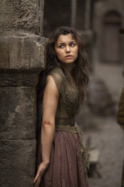 Samantha Barks as Eponine in Les Miserables picture image