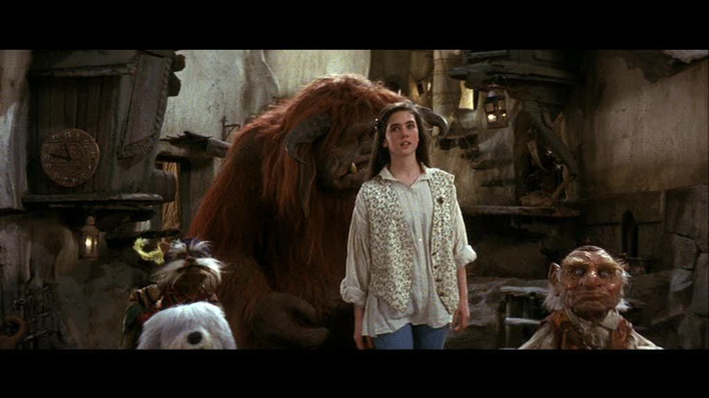 Sarah, Ludo, Didymus and Hoggle Labyrinth picture image