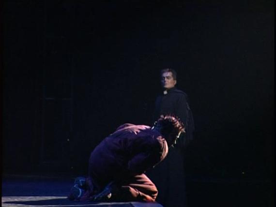 Frollo and Quasimodo L'Enfant trouvé  Notre Dame de Paris picture image