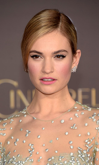 Lily James  picture image