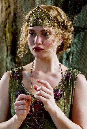 Lily James as Lady Rose MacClare Downton Abbey picture image