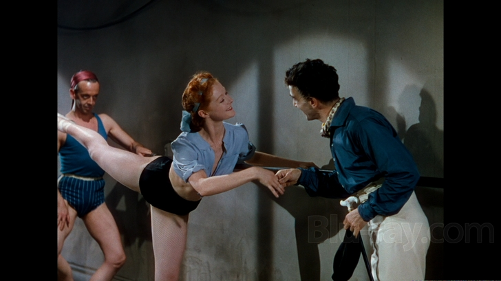 Moira Shearer as Vicky practicing The Red Shoes picture image