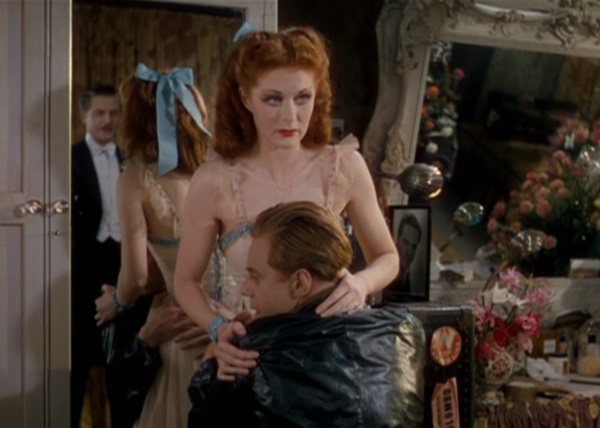 Moira Shearer as Vicky having to choice between love and dancing The Red Shoes picture image