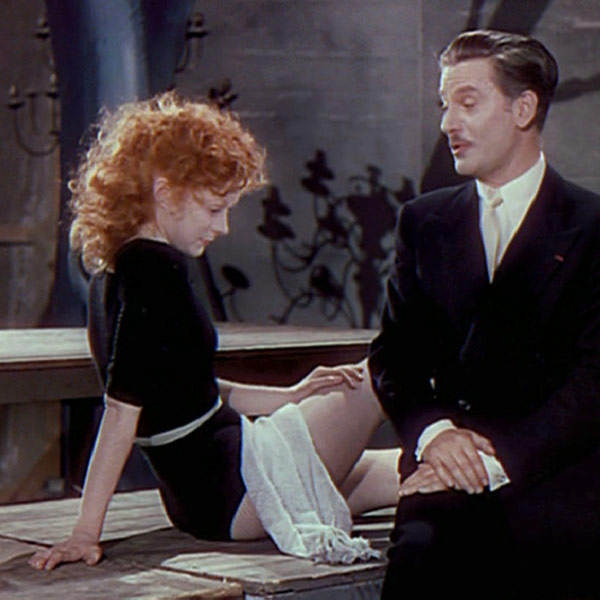 Moira Shearer as Vicky with Anton Walbrook as Lermontov The Red Shoes picture image