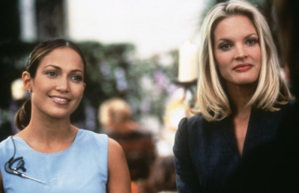 Mary (Jennifer Lopez) and Fran ( Bridgette Wilson-Sampras) The Wedding Planner picture image