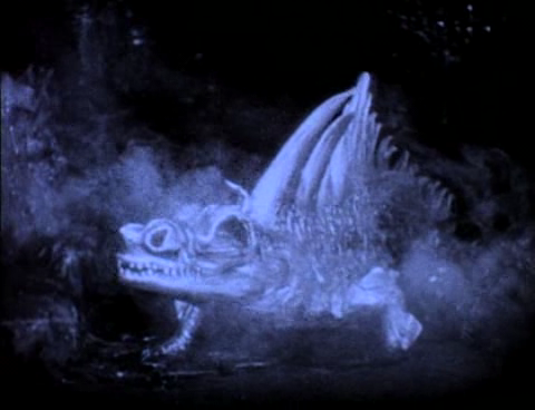 A Dragon Lizard Monster 1924 The Thief of Bagdad picture image