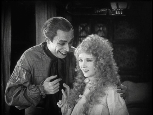 Conrad Veidt as Gwynplaine and Mary Philbin as Dea The man who laughs picture image