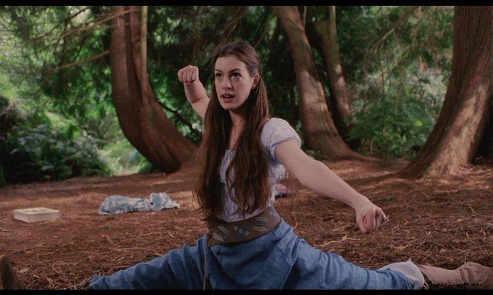 Anne Hathaway as Ella Ella Enchanted picture image